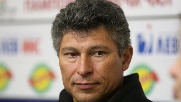 Балъков: Този мач е показател за цялата ни работа в първенството до момента