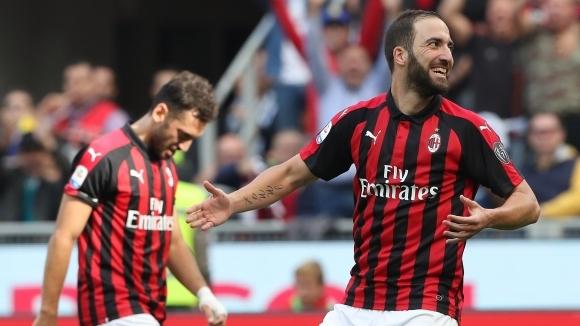 Игуаин: Искам да се отблагодаря на Милан