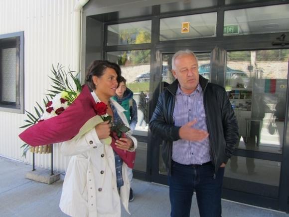 Антоанета Френкева посети Смолян 30 години след олимпийските си медали от Сеул