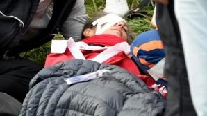 Ударената от голфър на Ryder Cup зрителка ослепя