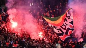 Сблъсъци в Париж след ПСЖ - Цървена звезда