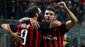 Игуаин и Кутроне отново блестят за Милан