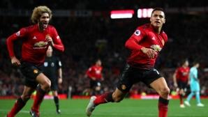 Юнайтед бе в нокдаун, но Моуриньо получи подкрепата на играчите, които се вдигнаха за голям обрат (видео)