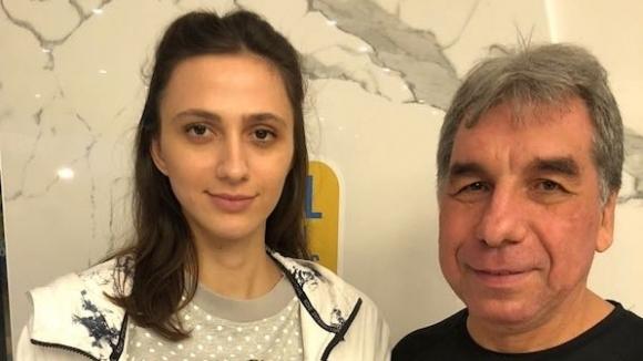 Признание в Русия за Ласицкене и треньора й