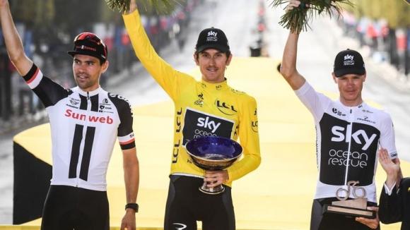 "Откраднаха трофея на ""Тур дьо Франс"""