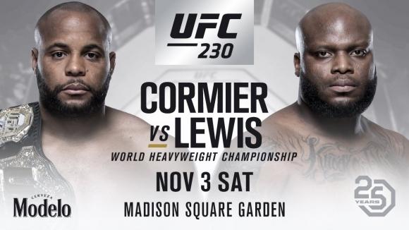 Класика от тежката категория е основното събитие на UFC 230