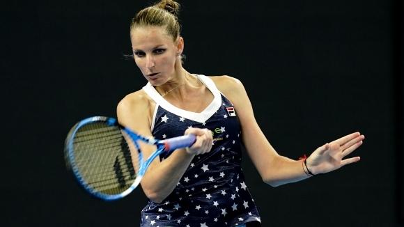 Плишкова на крачка от място в Шампионата на WTA
