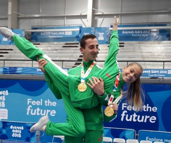 Българи със злато на Младежката олимпиада в Буенос Айрес (снимки)