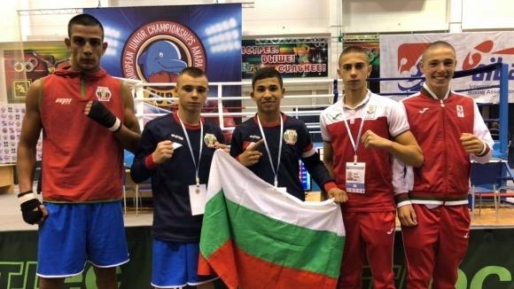 Българските юноши с пет убедителни победи на европейското по бокс