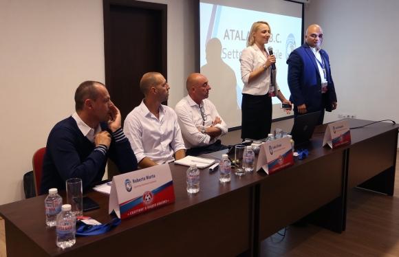 Семинарът на Аталанта за скаути в София приключи - бивш национал спечели специална награда