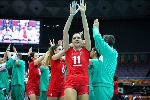 Волейболистките на България 12-и на Мондиал 2018