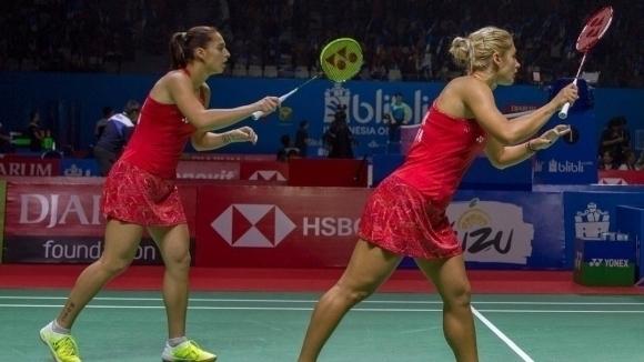 Габриела и Стефани Стоеви се класираха за финала на двойки в Холандия