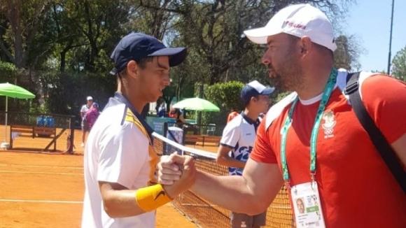 Адриан Андреев със сребро на двойки от Младежката олимпиада в Буенос Айрес