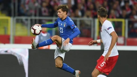 Италия нанесе късен удар, за да продължи битката с Португалия (видео+галерия)