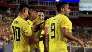 Колумбия се разправи със САЩ в шоу с шест гола
