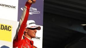 Мик Шумахер изживява мечтата си с титлата във Ф3