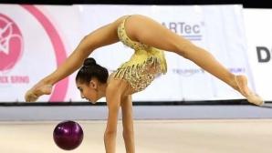 Ева Брезалиева с три сребърни медала от турнир по художествена гимнастика в Бърно