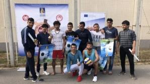 Левски-Спорт за всички организира събития в Бусманци