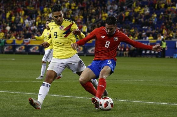 Колумбия се разправи с Коста Рика в контрола