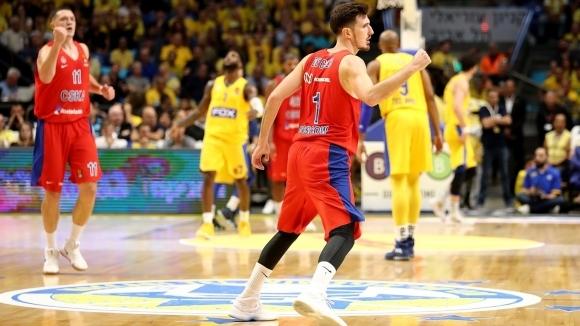 Де Коло измъкна ЦСКА в Тел Авив