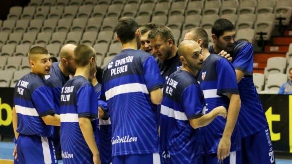 Спартак с първа победа за сезона