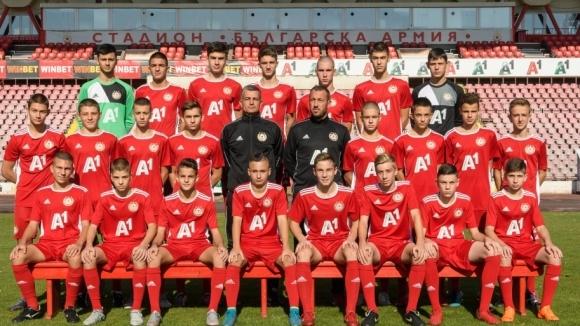Юношите на ЦСКА-София до 15 години биха Лудогорец в Разград