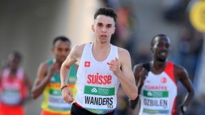 Швейцарец подобри европейски рекорд на Мо Фара