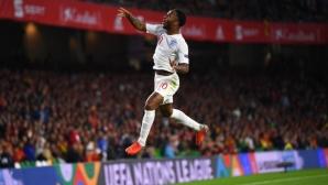 Испания - Англия 0:3 (видео)