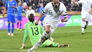 """Финландия лети в Лига """"С"""", Естония и Унгария сътвориха голов трилър"""