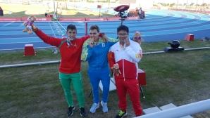Сребро за Валентин Андреев на  Младежката олимпиада