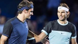 Попитаха Надал дали Федерер е най-великият в историята, ето неговия отговор