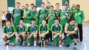 Казахстански отбор се включва в Балканската лига по баскетбол