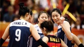 Олимпийските шампионки от Китай обърнаха Холандия на СП (видео + снимки)