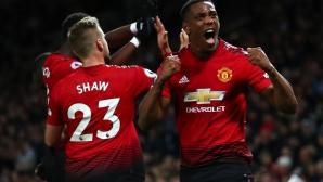 В Ман Юнайтед обнадеждени за новите договори на Марсиал и Шоу