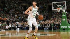 Бостън откри сезона с категоричен успех (видео)