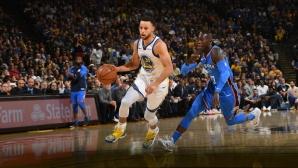 Стеф Къри изведе Голдън Стейт до победа на старта на сезона в НБА