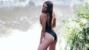 Волейболистка остана без бельо в Инстаграм