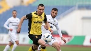 Изненадващ нов играч започна тренировки с Черно море