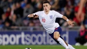 Цялата Бундеслига се нареди да гледа мач на Англия (U17)