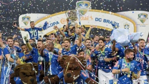 Купата на Бразилия отново е за Крузейро
