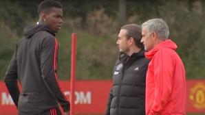 Играч на Юнайтед разкри за какво е бил скандала между Моуриньо и Погба