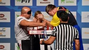 Осем медала за България в четвъртия ден на световното по канадска борба