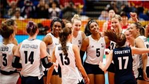 Волейболистките на САЩ сразиха Япония в битката за 5-ото място
