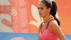 Шиникова отпадна на 1/2-финала в Люксембург на двойки