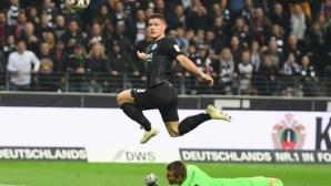 20-годишен сърбин с 5 гола при разгромна победа на Айнтрахт