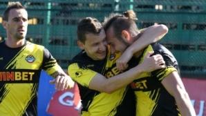 """Ботев Пд - Черно море 2:0, вторият гол на """"канарчетата"""" не трябваше да бъде зачетен (видео)"""