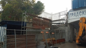 Строителните дейности по стадиона в Русе продължават