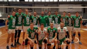 Добруджа повали шампионите в Бургас (статистика)