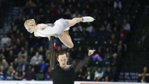 """Титли за Русия при спортните двойки и за САЩ при мъжете на """"Скейт Америка"""""""