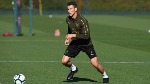 Капитанът на Арсенал с първа тренировка от няколко месеца